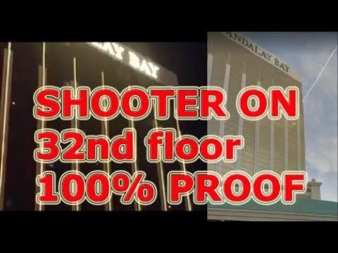 Las Vegas Shooting. Gunman confirmed from 32nd floor window 100 % proof. 8