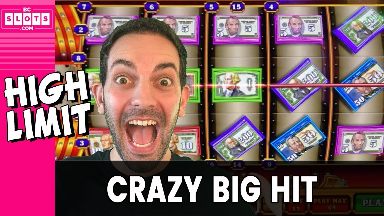 🤪 CRAZY Money = CRAZY Big Hit 💵 High Limit INSANITY 💥 ✦ BCSlots #AD 7