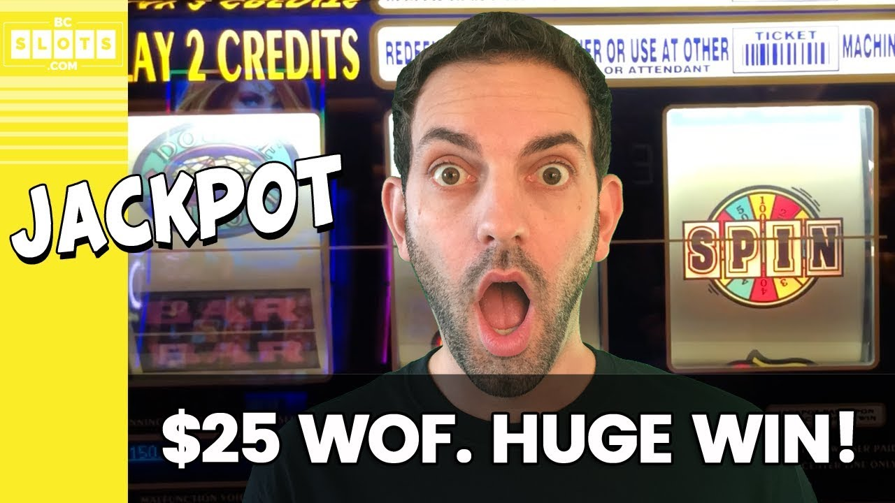 🙀 $25/Spin WOF JACKPOT! 💰 HUGE WIN @ San Manuel ✪ BCSlots #AD 6