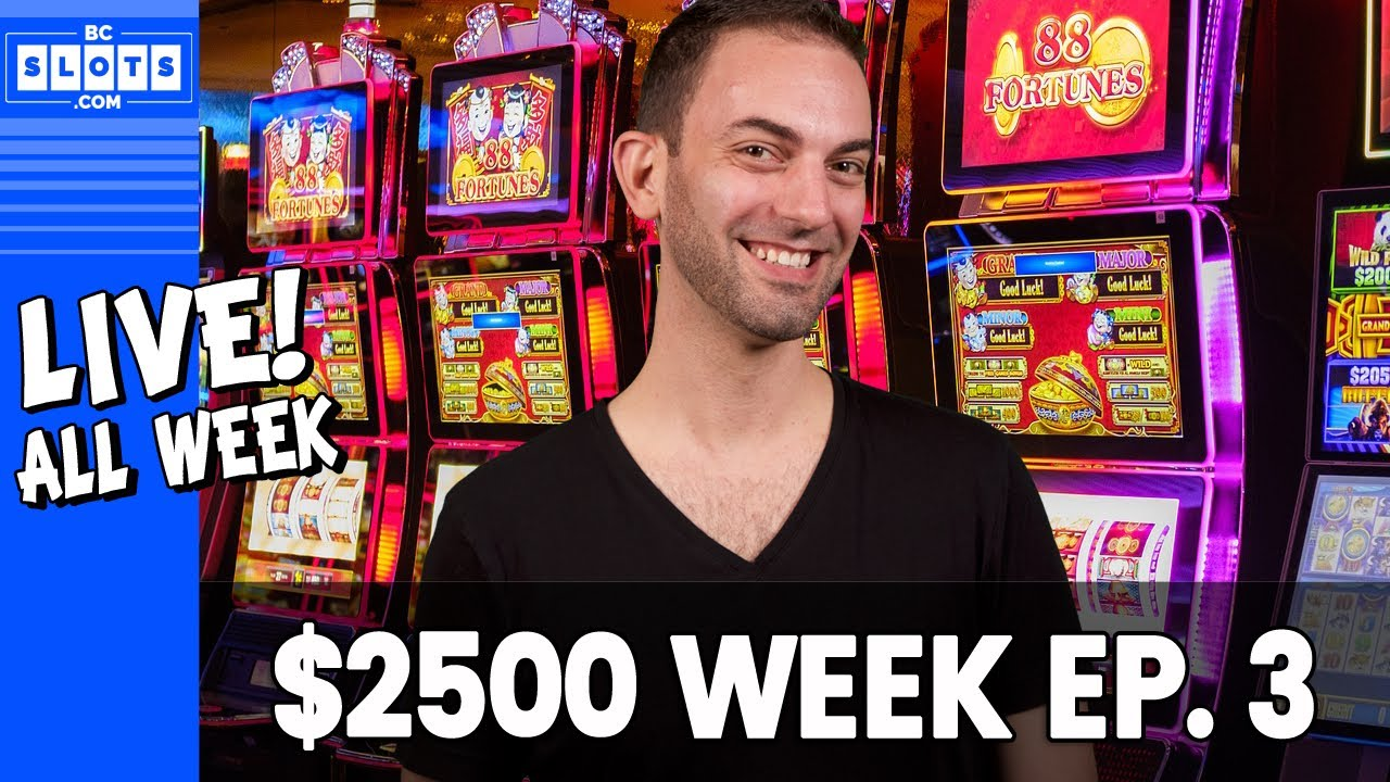 🔴 WED LIVE 👍➡️ Ep. 3 💰 $2500 @ San Manuel Casino ✪ BCSlots (S. 13 • Ep. 3) 4