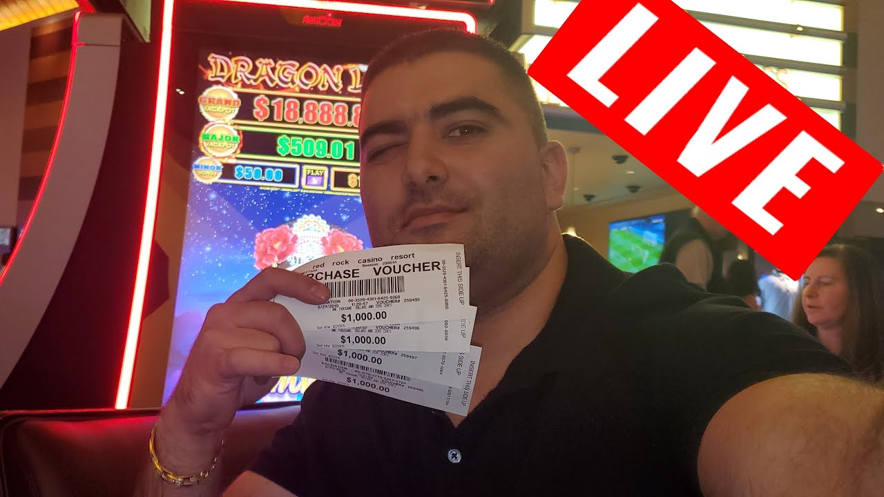 $5000 High Limit Slot Play From LAS VEGAS at RED ROCK CASINO ! 1