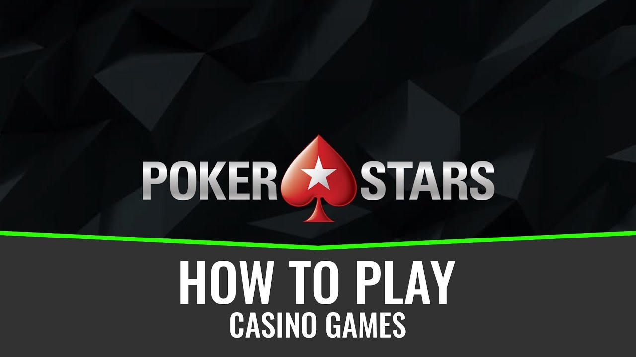How to play casino games on Pokerstars 9