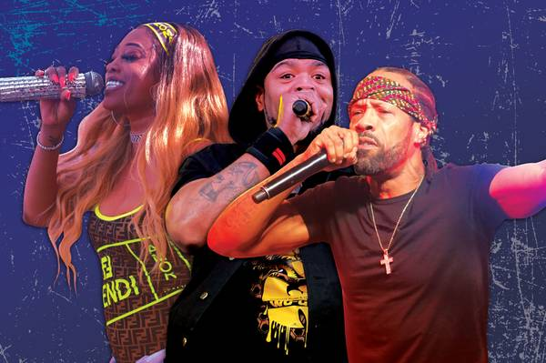 Throwback rappers Trina and Method Man & Redman hit the Vegas Strip 7