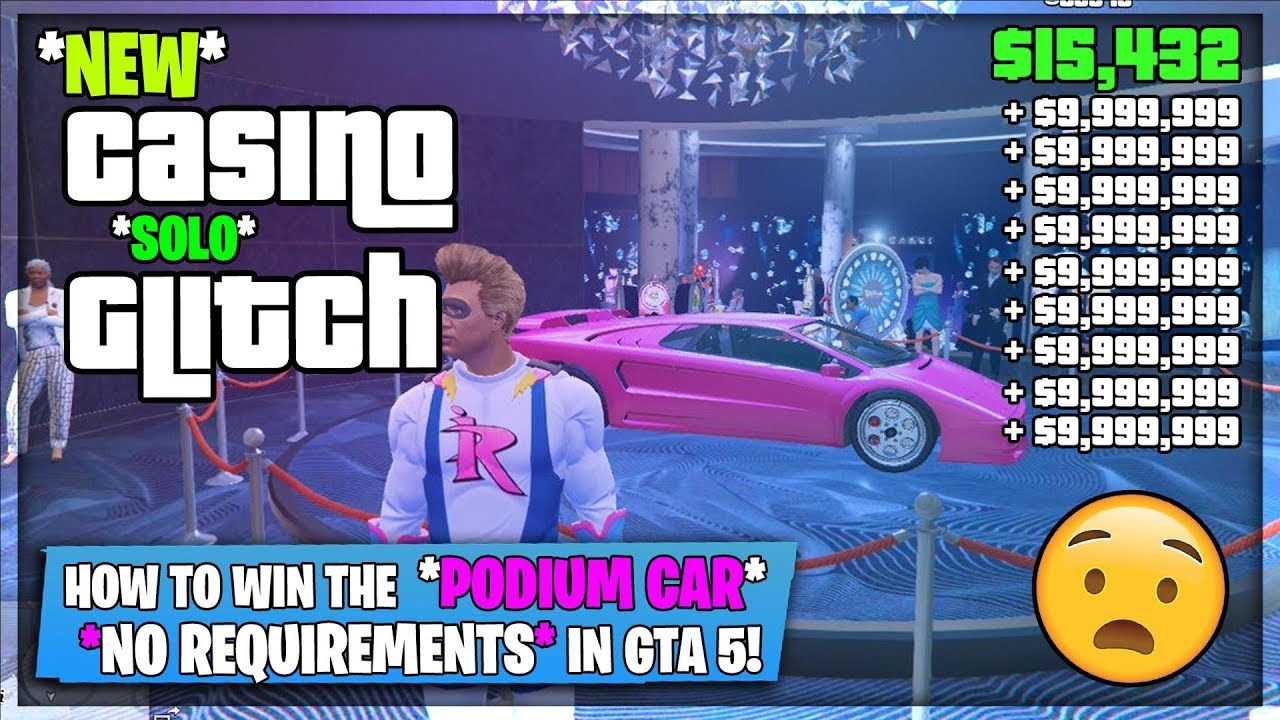 SOLO Casino Wheel Spin GLITCH *AFTER PATCH* Win The Podium Vehicle EVERY TIME In (GTA 5) 5