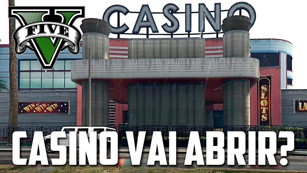 CASINO NO GTA V Vai Abrir? MUDOU Toda a Entrada, INCRIVEL 7