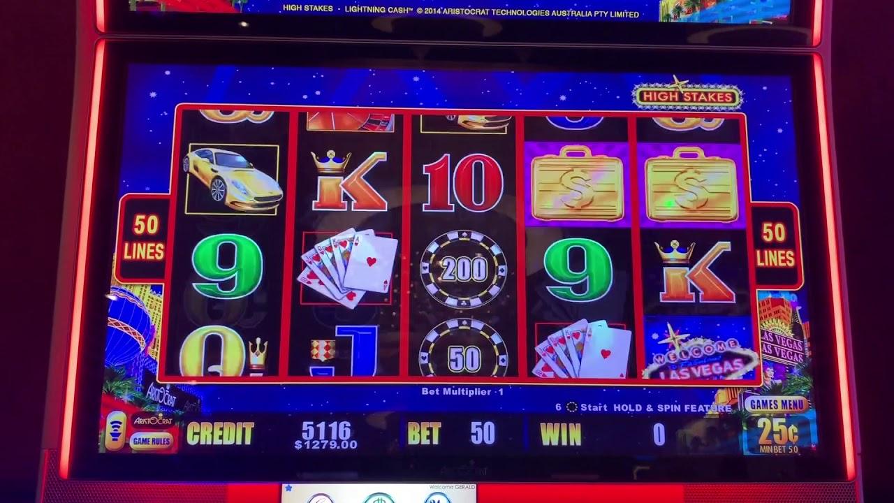 High Stakes Lightning Link - Bonus Games? - High Limit Slot Play 10