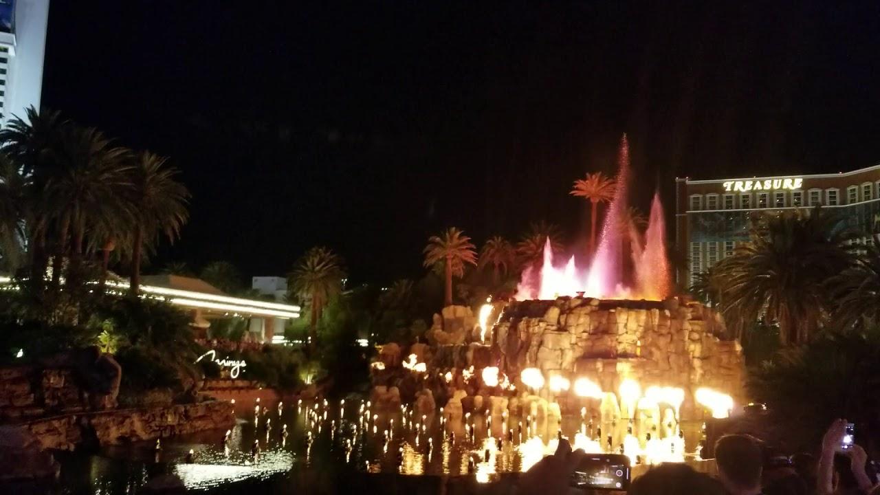 Mirage volcano show las vegas 2