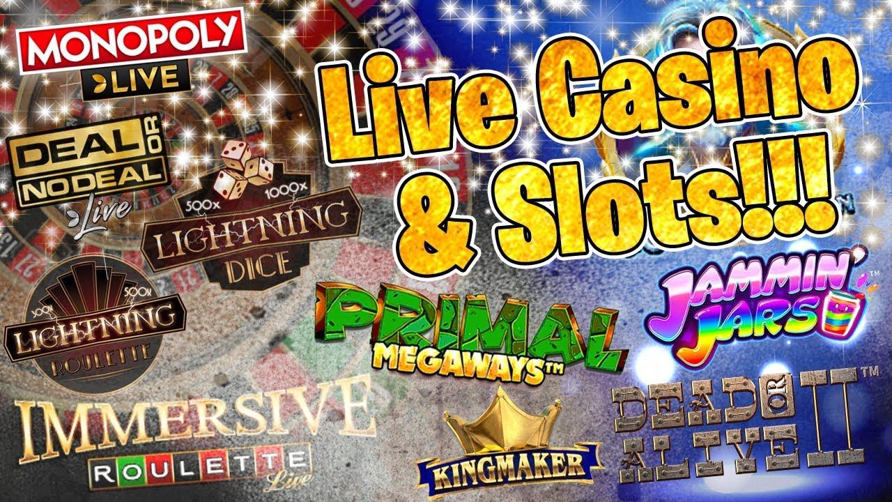 Live Casino & Slots Session!!! 1