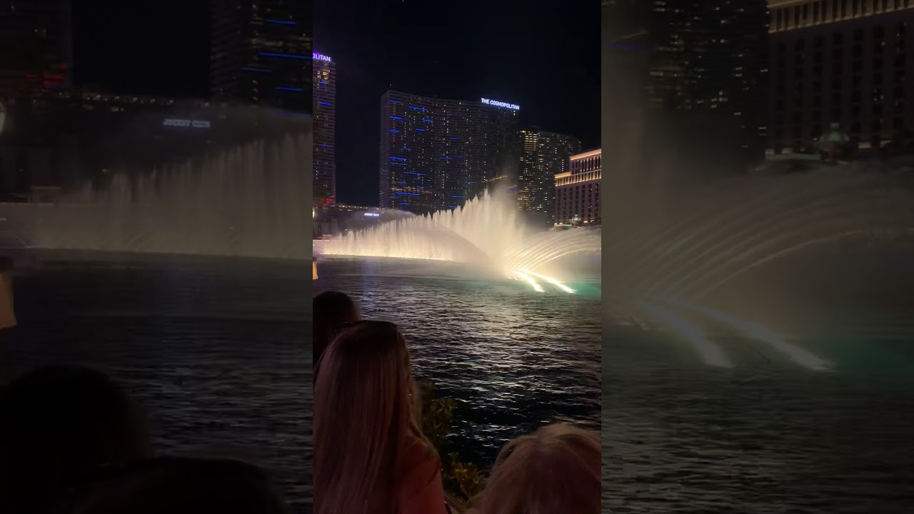 Water Show in Las Vegas With Titanic Music 2