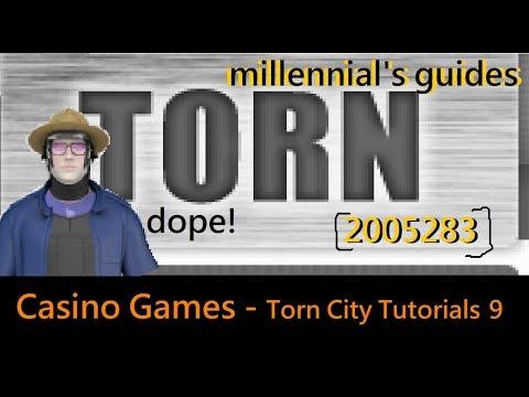 TORN VIDEO GAME GUIDE: Torn City Tutorials 9: Casino Games 8