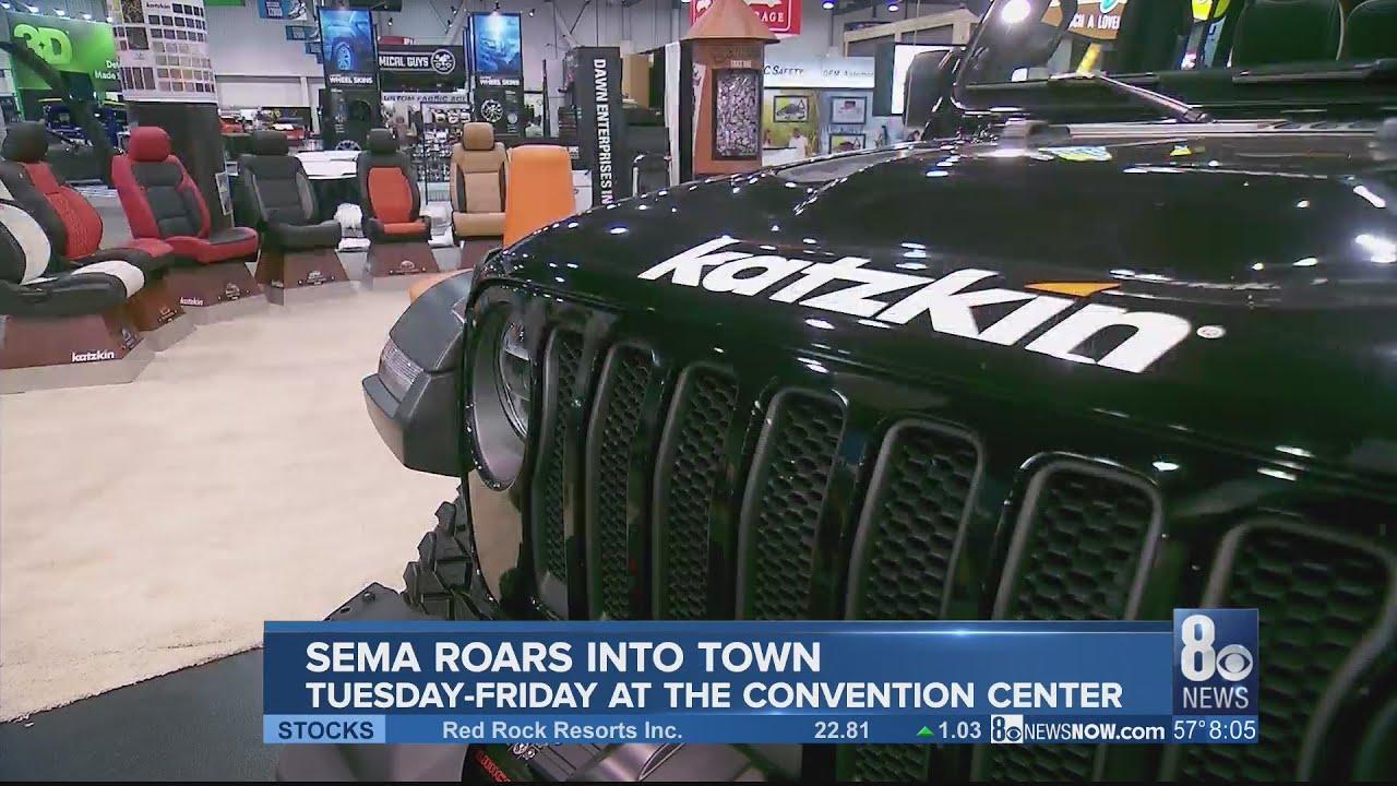 SEMA coming to Las Vegas this week 8