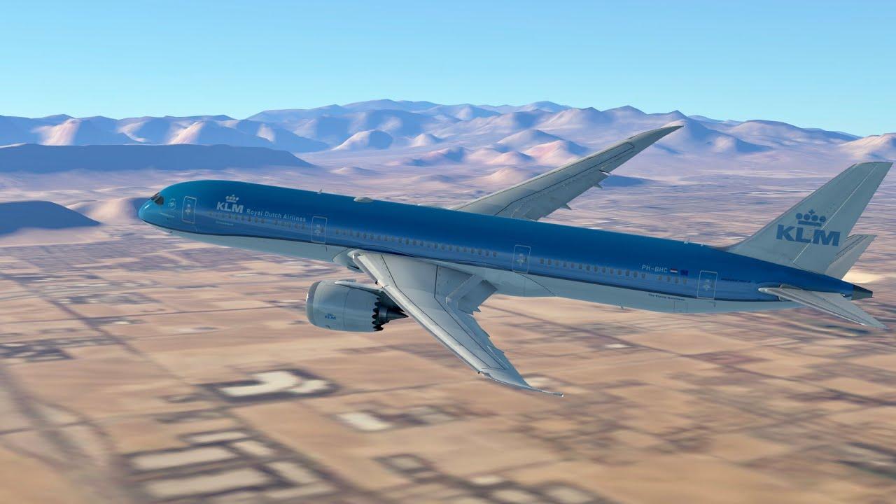 Infinite Flight Global: KLM KL636 787-9 Las Vegas to Amsterdam Live Stream 3
