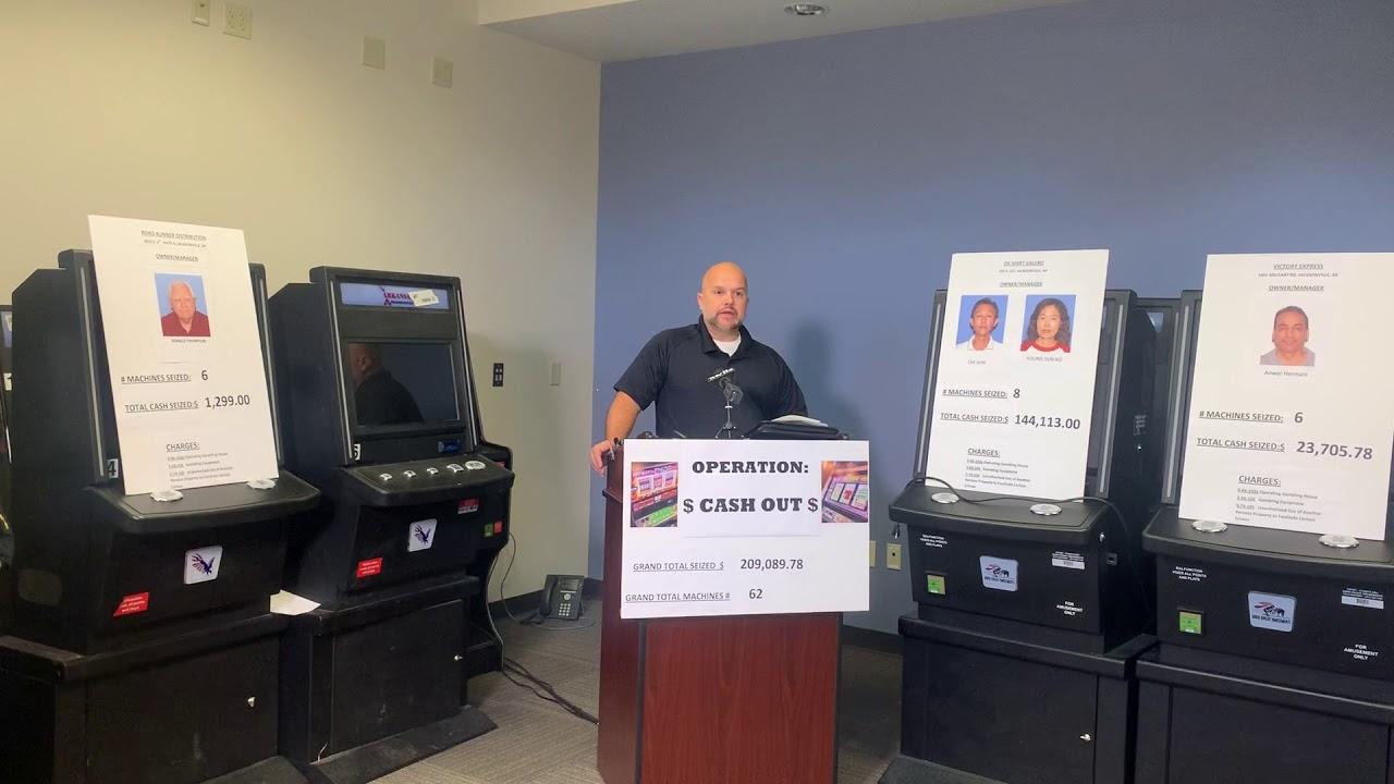 Jacksonville illegal gambling bust 1